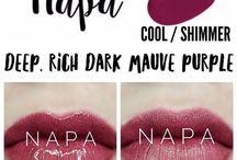 LipSense Colours