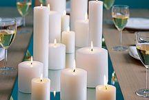 Candles & Pretty Decor Ideas