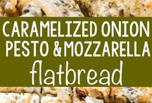 Zesty flatbreads