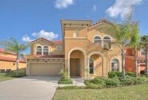 """Watersong Disney Villa / This brand new rental in the Watersong gated community is huge, with a impressive 4,200 square feet divided among two floors. On the first floor a spacious family room off the kitchen is equipped with a 55"""" HD television, XBOX and Blu-Ray player."""