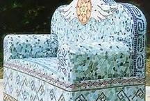 art - mosaic furniture