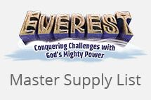 Everest VBS Updates and Resources / Some helpful content to guide you on your path to the Everest VBS summit! / by Group VBS