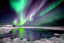 Island Winterreisen / Beeindruckende Nordlichter, Wasserfälle im Eiskleid und schneebedeckte Landschaften - Island im Winter