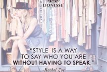 Words of Inspiration / Beauty, fashion, and lifestyle quotes