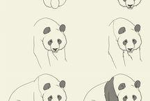 Piirtäminen, eläimet