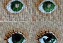 oczy lalki