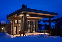 Modern Homes in MT & WY / Discover the clean lines of custom modern homes in Jackson Hole and Big Sky.  All new construction by Teton Heritage Builders.  Visit us on the web at www.tetonheritagebuilders.com
