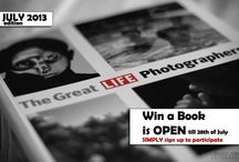 Win a Book / Every month we are giving a book about Architecture, Art or Literature away. SIMPLY sign up to participate.