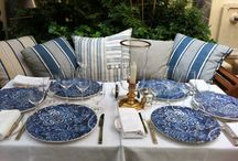 ralph lauren blue and white