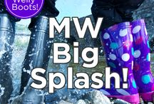 MW Big Splash / Every day it rains in October, we are giving away a pair of welly boots to the best splash photo. So take a pic of yourself or loved ones jumping in a puddle, send it to us photos@mountainwarehouse.com or tag us in it #MWBigSplash to be in with a chance of winning!