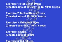 Workouts / Different workouts