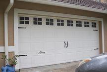 Garage door paint project