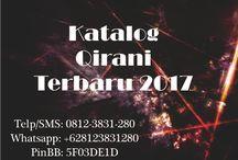 Katalog Qirani Terbaru 2017 / Katalog Qirani Terbaru 2017  Telp/SMS: 0812-3831-280 Whatsapp: +628123831280 PinBB: 5F03DE1D
