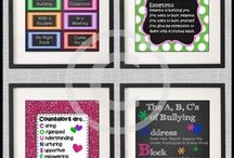 School Counselor Office Decor / Here you will find printable posters and door signs for an elementary, middle school or high school counselor's office. These decorations make great DIY counseling gifts for appreciation week, Christmas or the end of the year.