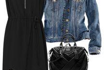 black clothing