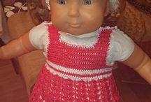 VESTIDOS BEBE  A CROCHET / Vestidos de bebe a Crochet de hilo