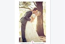 Newlywed Holiday / Holiday cards for announcing or celebrating your wedding or elopement.