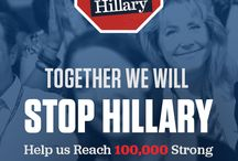 Stop Hillary / It Starts Now: Pledge to Stop Hillary Clinton