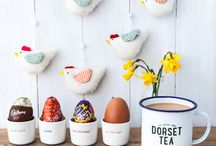 Easter Treats / Time for some spring time treats with Dorset Tea and our tasty friends