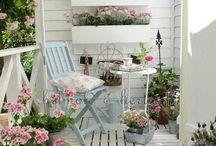 Balkon és kert