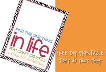Free Printables  / by Kristen Riley