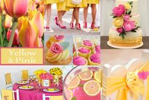 Hot Pink Wedding Trends / All wedding details featuring the very popular color, Hot Pink!