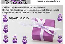 Ajankohtaisia asioita / Hius- ja Kauneus Studio ANNA & AXEL:n ajankohtaisia asioita