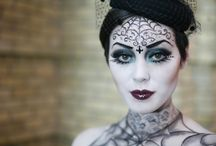 Glam Halloween Makeup / #Halloween, #Makeup, #Makeup tutorial, #Cosplay #Gothic