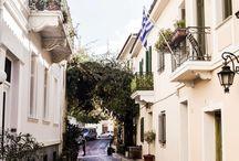 an Athenian walk