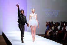 Zimbabwe Fashion week 2014 / Tapfumanei Munenge Couture s/s 2014.