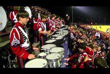 bubny a pochodové kapely