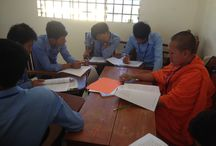 C-BED training in Kampong Som Provincial Training Center, Cambodia, with the support of NTTI
