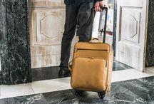Viaggio / Un borsone, uno zaino, un trolley Tramontano, sono più di una funzione d'uso. Sono dei compagni di viaggio che si scelgono, si conservano e si curano