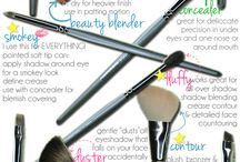 If the barn needs painting... / Make up tips and tricks for the untrained.