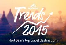 Where to go in 2015! / Need some #travel inspiration? Here's some top tips on where to go in #2015 Check out more here http://shout.lt/VpXJ / by Skyscanner