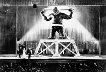 King Kong / Pinboard is collaborative project showing images used to inspire a research paper about the practices of looking and human sacrifice in King Kong (1936).