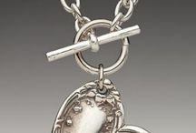Silver Spoon & fork jewelry / Handmade