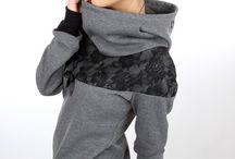 DIY sew hoodie