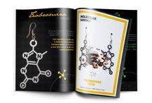 Molecular collection by RossoCiliegia®. / Scegli la tua molecola e indossala per tutto il giorno.