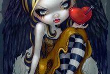 Gothic fairies