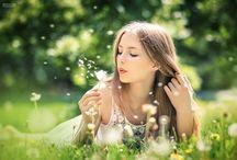 Blow a wish / Dandelions / by Renée