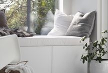 Window sill seating