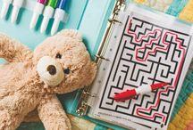 Quiet activities for kids