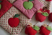 Frutas en tela