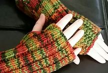 easy knitting wristers