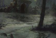 Tatalia / A swamp land.