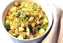 Ensalada de Quinoa un Almuerzo Saludable