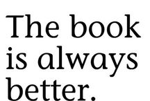 Fav Books. Movies and TV