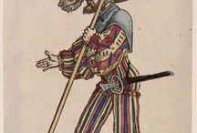 Landsknecht - samtidig illustrationer / Inspiration til VLH Landsknecht gruppe