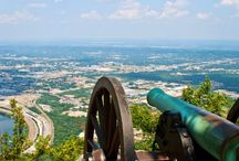 Location Inspiration/Chattanooga / See you Monday- a Christian Fiction novel- is set in Chattanooga, TN!